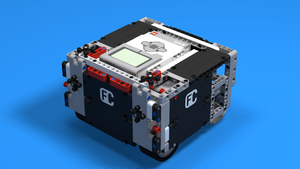 Image for How to build SUV Box Robot for LEGO Competitions