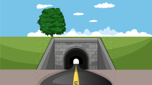 Image for Lesson 7 - Passing through a tunnel