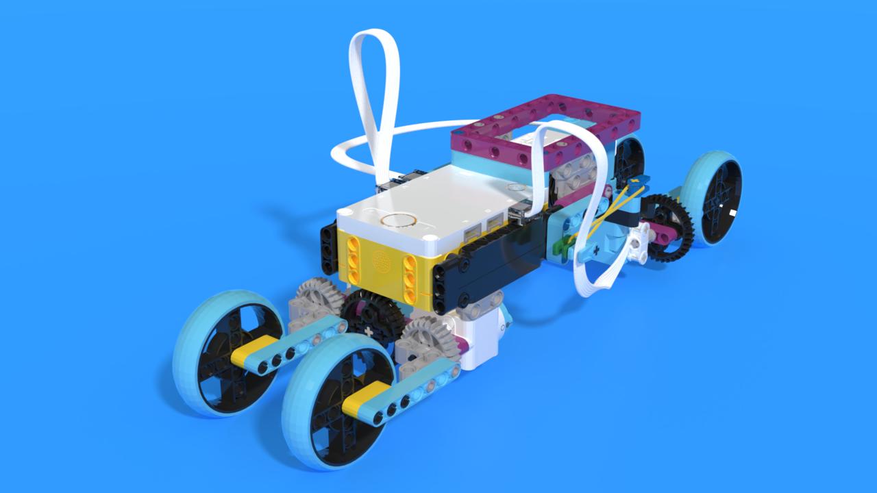 Image for Larvy - LEGO SPIKE Prime larva robot