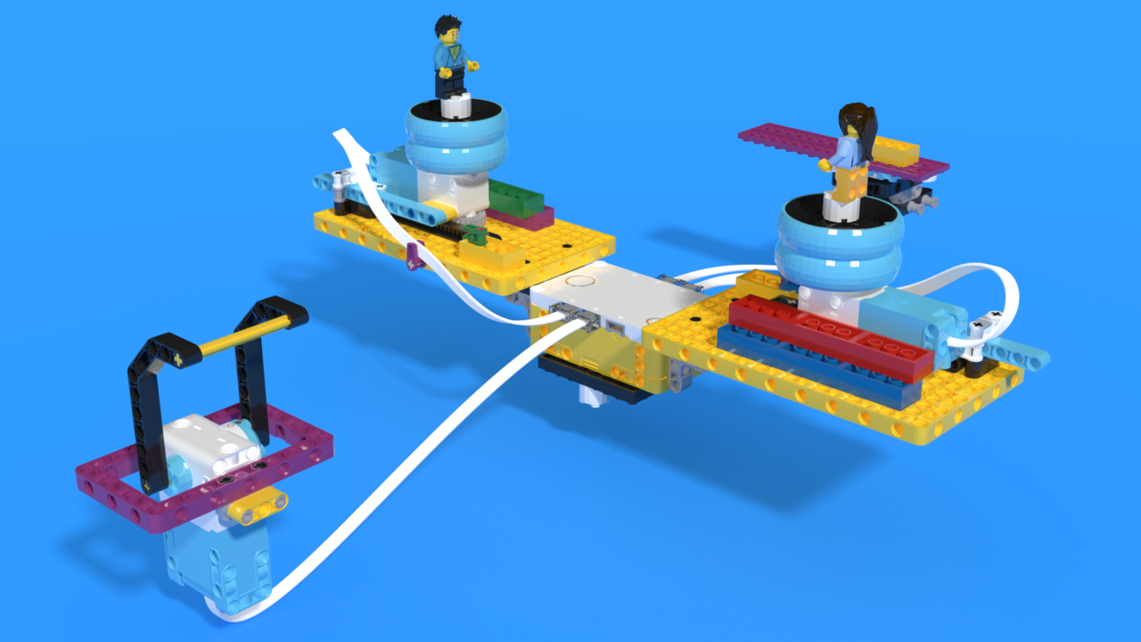Image for Swing game - LEGO SPIKE Prime robot