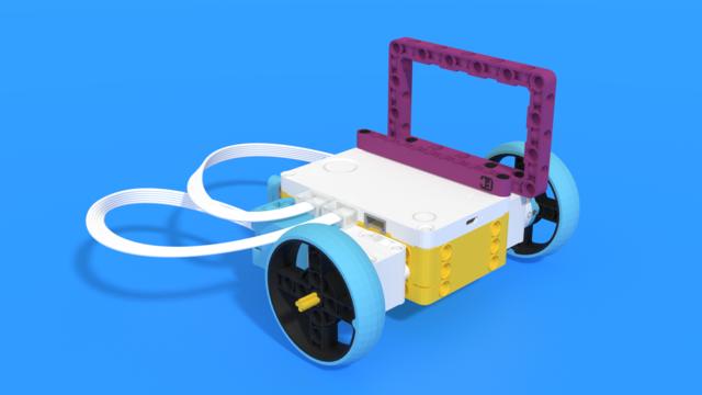 Image for Aitken - a LEGO SPIKE Prime moon exploration robot