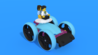 Image for Zatty - a mini car from LEGO SPIKE