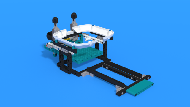 Image for Basketball hoop from LEGO Mindstorms Robot Inventor