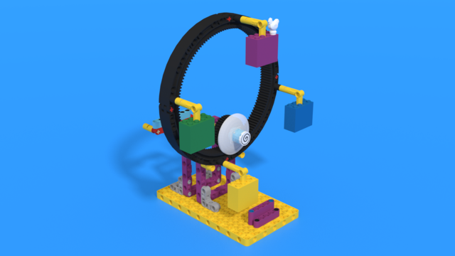 Image for Ferris Wheel from LEGO Education SPIKE Prime in 3D building instructions