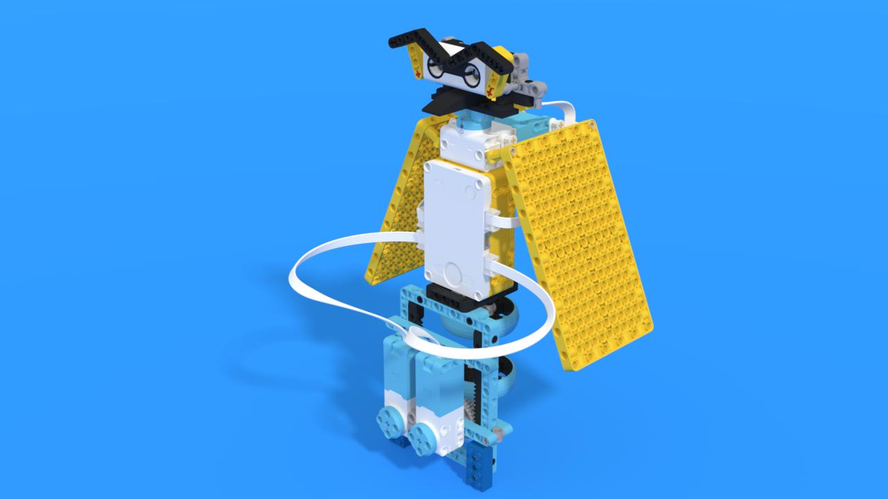 Image for Tohuru - LEGO SPIKE Prime owl robot