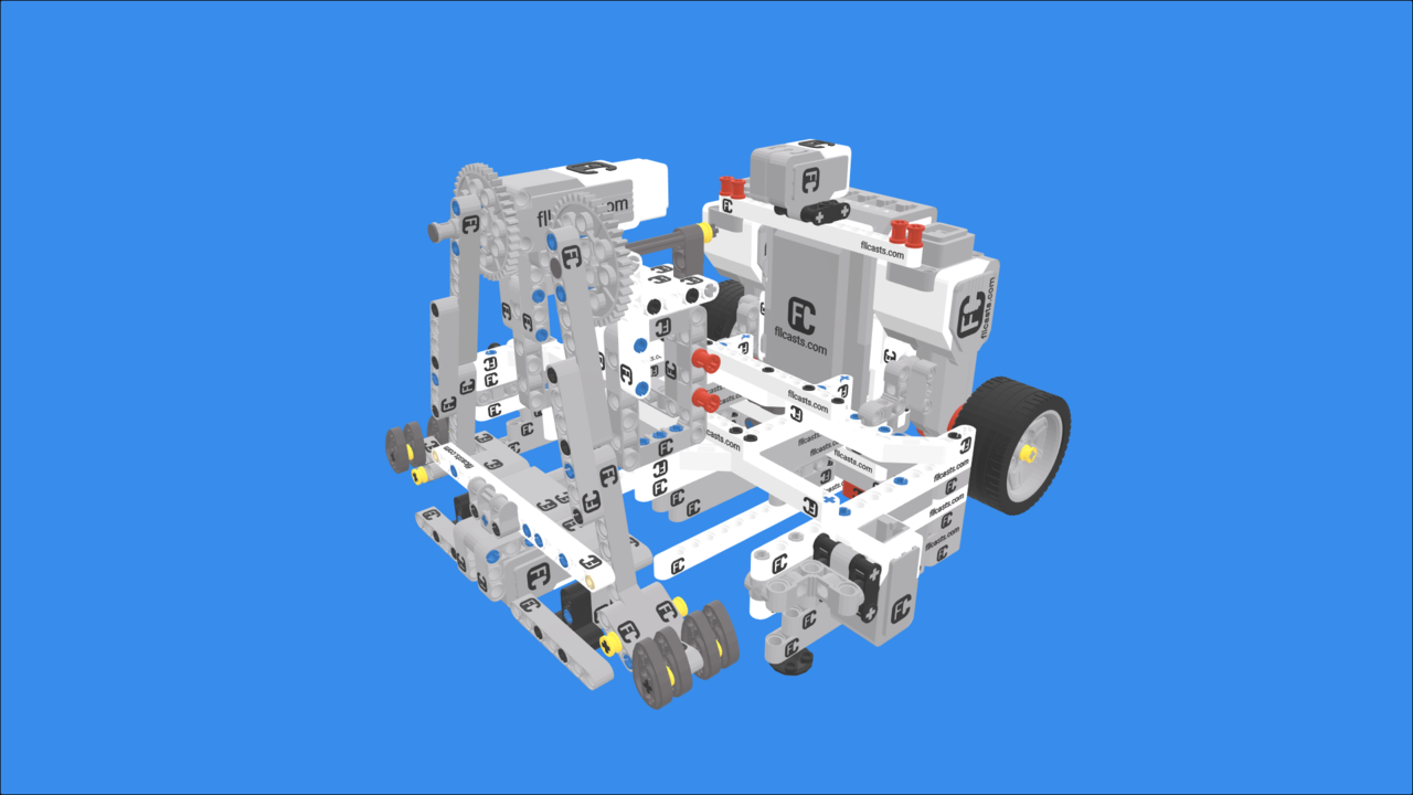 Image for WRO Elementary 2018 Robot with LEGO Mindstorms EV3