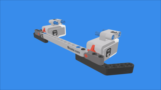 Image for Double Touch Bumper Sensors for LEGO Mindstorms EV3 robots