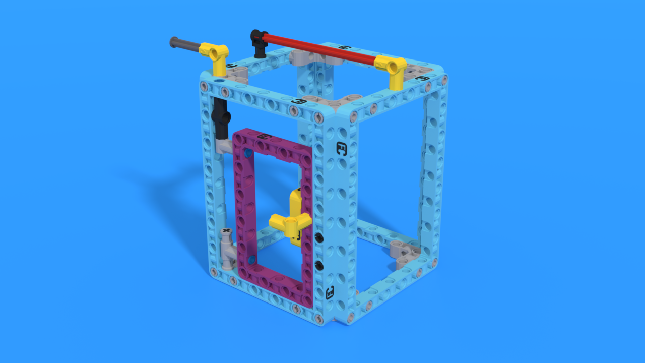 Image for Magical Wardrobe from LEGO Education SPIKE Prime in 3D building instructions