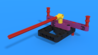 Image for Easy Detach attachment from LEGO Education SPIKE Prime, with 3D building instructions