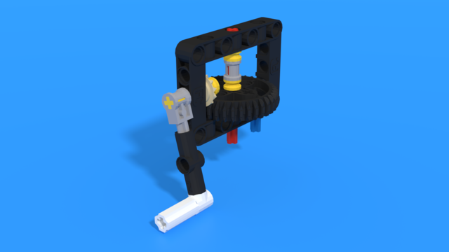 Image for Front attachment from LEGO Education SPIKE Prime, with 3D building instructions