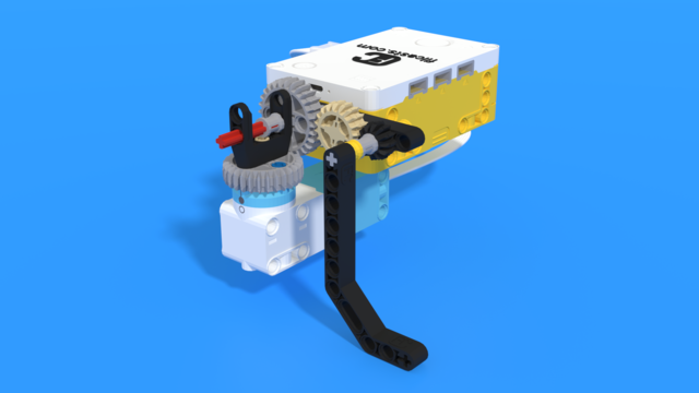 Image for Side attachment from LEGO Education SPIKE Prime, with 3D building instructions