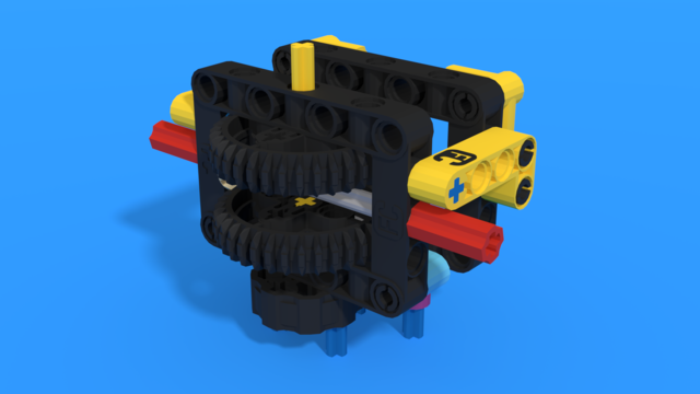 Image for Reusable Attachments for changing gears orientation