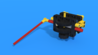 Image for Reusable geared attachment 4 from LEGO Education SPIKE Prime, with 3D building instructions