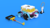 Image for How an Quick pinless attachment collects parts. Part 1. Demo with Luly Box Robot from LEGO Education SPIKE Prime