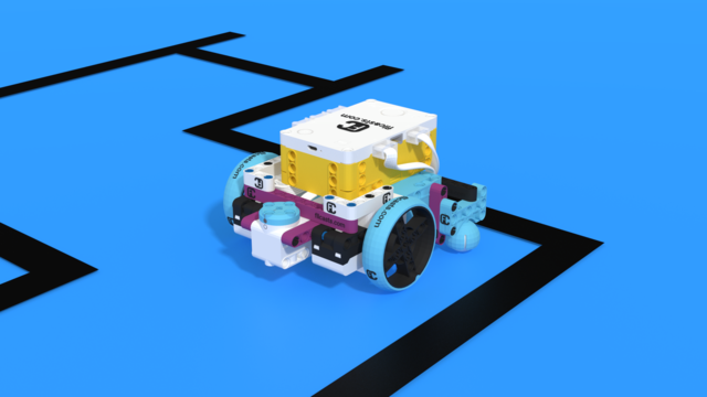 Image for How to turn left and right with LEGO Education SPIKE Prime
