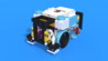Image for Light Cooley, a box robot robot chassis from LEGO Education SPIKE Prime, with 3D building instructions