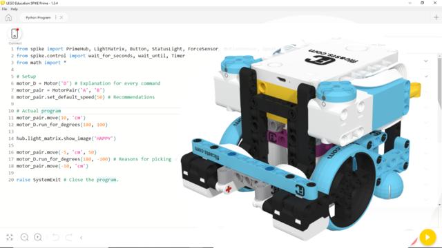 Image for Python program to accomplish FLL 2020 Robot Dance, with LEGO Education SPIKE Prime