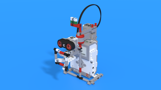Image for Ane - a LEGO Mindstorms Musician robot