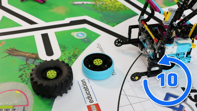 Image for FLL 2020: 10 out of 10 on how to accomplish Tire Flip mission