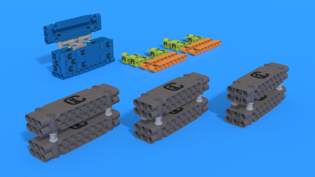 Image for Bag 3 - FIRST LEGO League 2021-2022 CARGO CONNECT