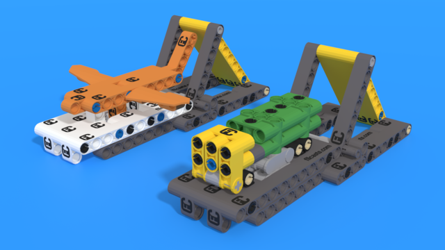 Image for 2021 CARGO CONNECT Challenge Mission Models Building Instructions