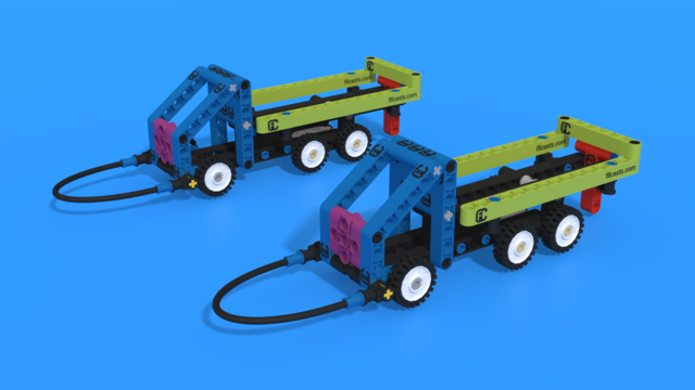 Image for Platooning Trucks M13 FIRST LEGO League 2021-2022 Cargo Connect Challenge