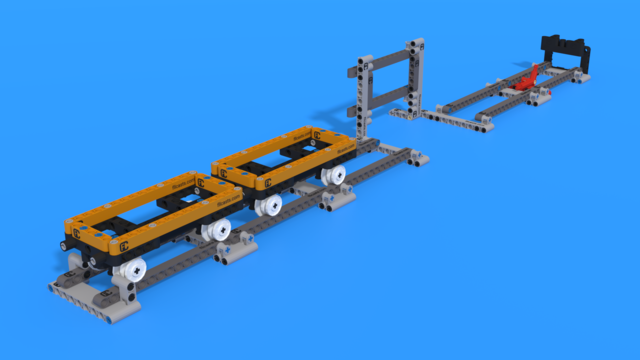 Image for Train Tracks M09 FIRST LEGO League 2021-2022 Cargo Connect Challenge