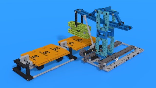 Image for Unload Cargo Ship M07 FIRST LEGO League 2021-2022 Cargo Connect Challenge