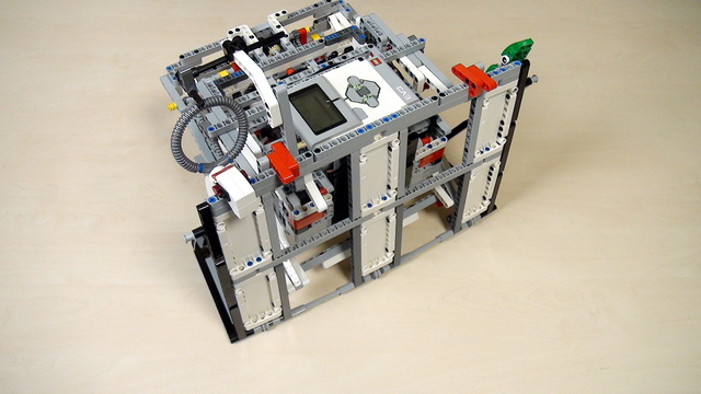 Image for Improving FLL Robot Game. Group the Gecko in the same run. Use a lever to drop it