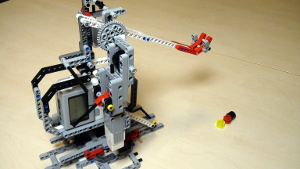 Image for Catapult built from LEGO Mindstorms EV3/NXT (Part 3 - Automatic loading)