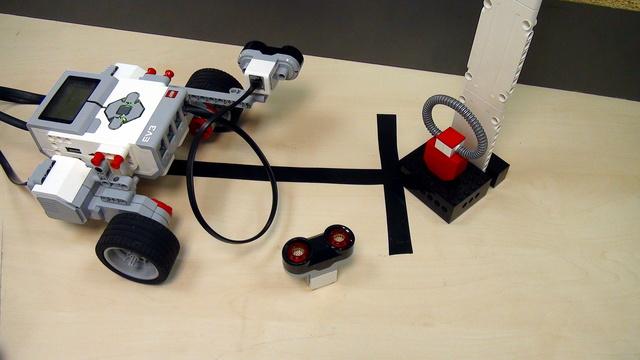 Image for Ultrasonic Sensor. Smooth follow a wall (part 2)