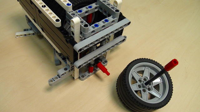 Image for Physics in LEGO Mindstorms: Energy Accumulation and Conservation. Part 4 - experiment for energy in Joules
