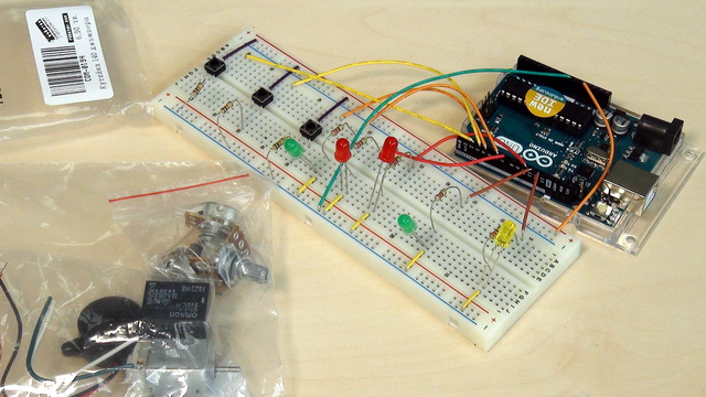 Image for Arduino Basic Course. Safety work with the Arduino