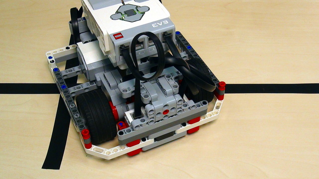 Image for Proportional Line Following with EV3 Mindstorms. Part4. Extracting a block for EV3-G