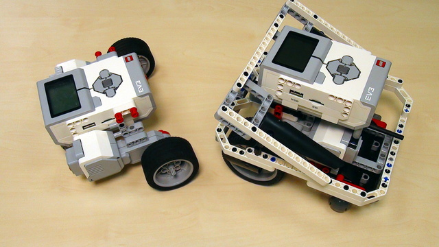 Image for EV3 basics course. Programming motor from EV3-G on the computer (part 4)
