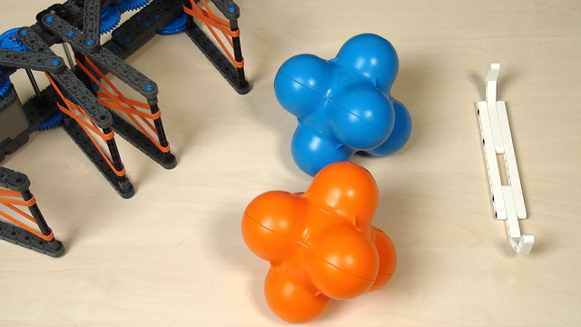 Image for VEX IQ Crossover. Synchronizing gear wheels with the second part of the attachment