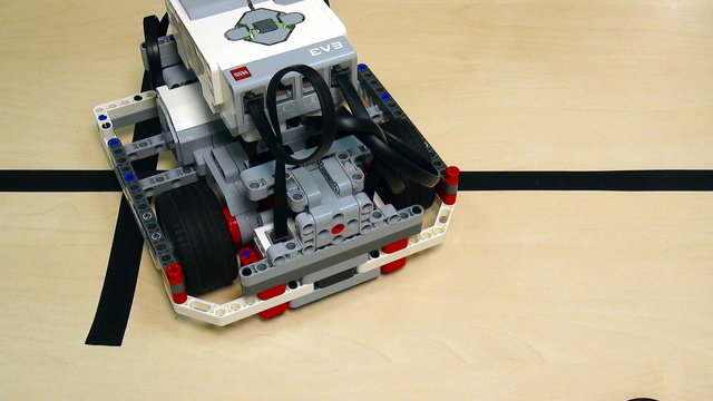 Image for Proportional Line Following with EV3 Mindstorms. Part 3