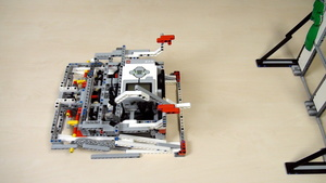 Image for Lifting a Mindstorms LEGO robot