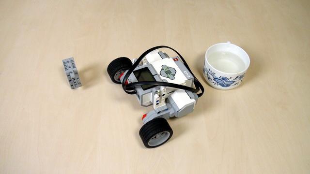 Image for EV3 Phi. Teacher's note - Break at the End option in EV3-G for Mindstorms move block