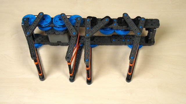 Image for VEX IQ Crossover. Preventing gear wheels from skipping a tooth while rotating