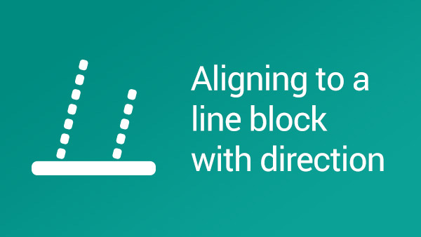 Image for How to align LEGO NXT Robot to a line using a block with direction