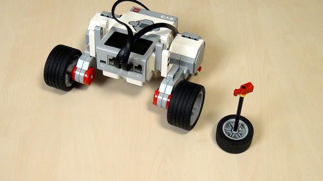 Image for EV3 Phi. Move tank block - finish the whole 180 degrees turn