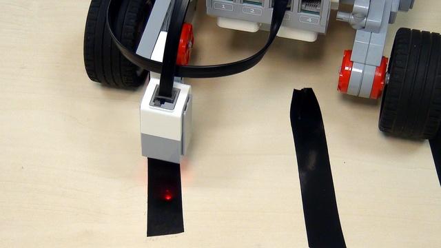 Image for EV3 basics course. Color Sensor at a competition (part 7)