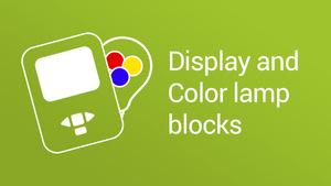 Image for Display Block & Color Lamp Block