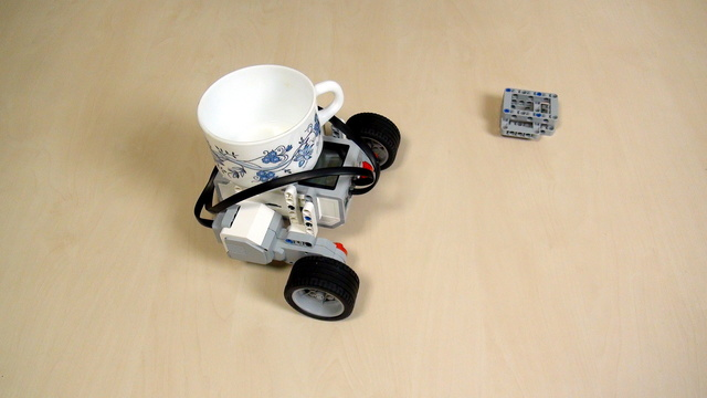 Image for EV3 Phi. Teacher's note on using a cup of water in class