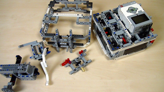 Image for Box Robot Two. Conclusion on the attachments