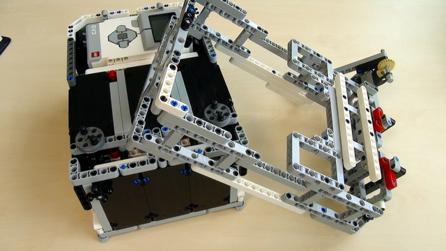 Image for Attachments for Box Robot for Robotics Competitions. Frame for holding the robot attachments