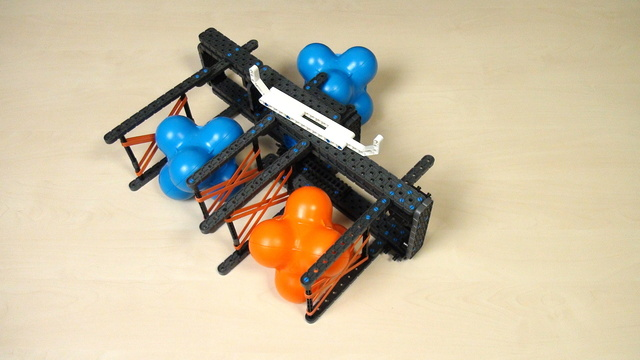 Image for VEX IQ Crossover. Task. Build the same second attachment and extend the first