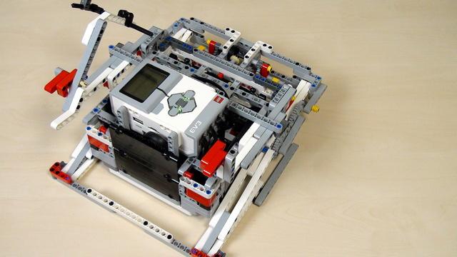 Image for Improving FLL Robot Game. Task. Build a robot base.