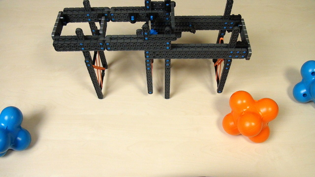 Image for VEX IQ Crossover. Extending attachment without a motor, but with a  rack